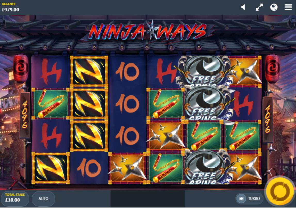 ninja ways slots